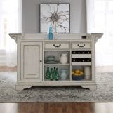 Liberty Furniture Magnolia Manor Bar in Antique White 244-BAR7242 EST SHIP TIME IS 4 WEEKS