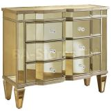 Pulaski Mirrored Accent Chest in Marquis