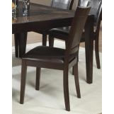 Homelegance Vincent Side Chair in Dark Brown (Set of 2) 3299S