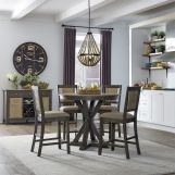 Liberty Furniture Cypress Lake 6pc Gathering Table Set in Two-Tone Gray & Natural CODE:UNIV20 for 20% Off