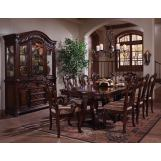 Samuel Lawrence Furniture San Marino Ped Table in Sanibel Finish 3530-131A