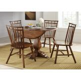 Liberty Furniture Creations II 5pc Casual Dining Room in Tobacco Finish 38-CD