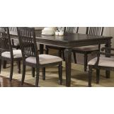 New Classic Cadiz Rectangular Dining Table in Vintage Ash 40-821-10 PROMO