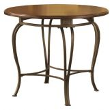 "Hillsdale Montello 45"" Round Dining Table in Brown 41541-810-1"