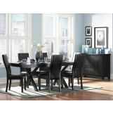 Homelegance Rigby 7pc Dining Table Set in Espresso