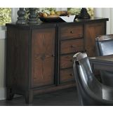 Homelegance Bayshore Server in Medium Walnut 5447-40
