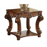 Acme Vendome Square End Table in Cherry 82001 CLEARANCE