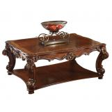 Acme Vendome Square Coffee Table in Cherry 82002 SPECIAL