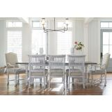 Paula Deen Home Dogwood 9-Piece Rectangular Dining Set in Blossom