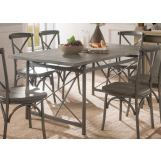 Acme Furniture Kaelyn II Dining Table in Gray Oak and Sandy Gray 60120 EST SHIP TIME IS 4 WEEKS