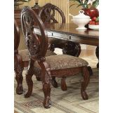 Acme Rovledo Side Chair in Cherry (Set of 2) 60802