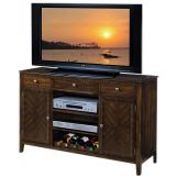New Classic Edgemont Server in Distressed Walnut 10-112-10