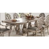 Acme Furniture Northville Rectangular Dining Table in Antique Champagne 66920