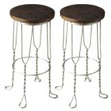 Butler Specialty Industrial Chic Bar Stool (Set of 2) 2052025