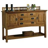 Hekman Arts & Crafts Sideboard in Mission Pointe 8-4032