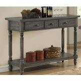 Acme Furniture Wallace Server in Weathered Gray 71439 EST SHIP TIME IS 4 WEEKS