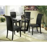 Homelegance Sierra 5pc Dining Table Set in Ebony