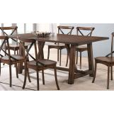 Acme Furniture Kaelyn Dining Table in Dark Oak 73030  EST SHIP TIME IS 4 WEEKS
