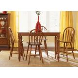 Liberty Furniture Low Country 5pc Gathering Table Set in Suntan Bronze Finish 76-GT