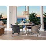 Universal Coastal Living Escape 5PC Round Dining Room Set in Sandbar
