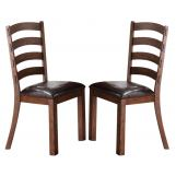 New Classic Furniture Lanesboro Dining Chair (Set of 2) in Distressed CLOSEOUT