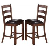 New Classic Furniture Lanesboro Counter Chair (Set of 2) in Distressed CLOSEOUT