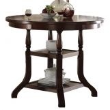 New Classic Bixby Counter Dining Table in Espresso D2541-12 PROMO