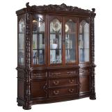 Meridian Barcelona Hutch/Buffet in Rich Cherry 701-HB