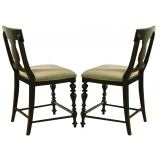Paula Deen Home Counter Height Chair in Tobacco (Set of 2) CODE:UNIV10 for 10% Off