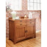 A-America Cattail Bungalow Sideboard in Amber CATAM9010 CODE:UNIV20 for 20% Off