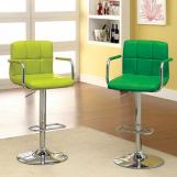 Furniture of America Corfu Bar Stool in Lime CM-BR6917LM