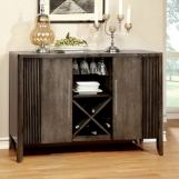 Furniture of America Forbes I Server in Gray CM3435SV
