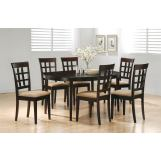 Coaster Rich Cappuccino Dinette Set