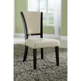 Coaster 1036 Upholstered Side Chair in Ivory (Set of 2) 103682IVY