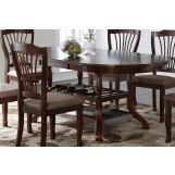New Classic Bixby Dining Table in Espresso D2541-10 PROMO