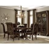 A.R.T Gables 5pc Round Dining Set in Cherry