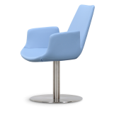 Soho Concept Eiffel Arm Round Swivel Chair