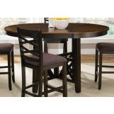 Liberty Furniture Bistro Gathering Table in Honey/Espresso 74-GTB4866