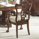 Fine Furniture Antebellum Ball & Claw Arm Chair in Hermitage (Set of 2) 920-825