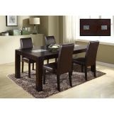 Global Furniture Marble Stone Top D043DT-DG020DC 7-Piece Dining Room Set