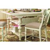 Paula Deen Home Kitchen Gathering Table in Linen CODE:UNIV20 for 20% Off