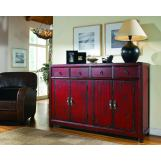 Hooker Furniture Seven Seas 58 inches Red Asian Cabinet 500-50-711 SALE Ends Jan 24