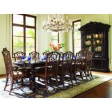 Lexington Tommy Bahama Royal Kahala Islands Edge Dining Set w/Pacific Rim Chairs