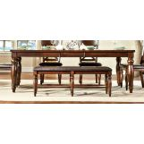 Intercon Furniture Kingston Butterfly Leaf Dining Table in Raisin