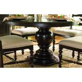 Paula Deen Home Round Pedestal Table in Tobacco CODE:UNIV20 for 20% Off