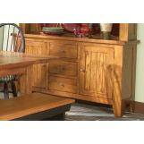 Intercon Furniture Rustic Traditions Buffet in Rustic
