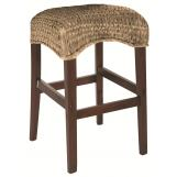 "Coaster Westbrook Woven 24"" Backless Stool in Natural (Set of 2) 101097"