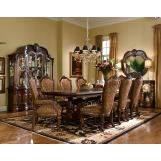 AICO Windsor Court 9-pc Rectangular Dining Table Set