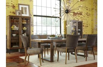 A.R.T. Epicenters Williamsburg 7-Piece Rectangular Dining Set