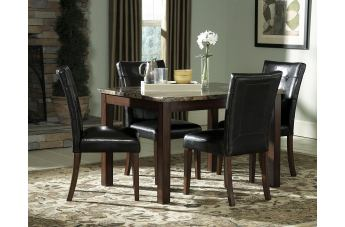 Homelegance Achillea 5pc Dining Table Set in Cherry